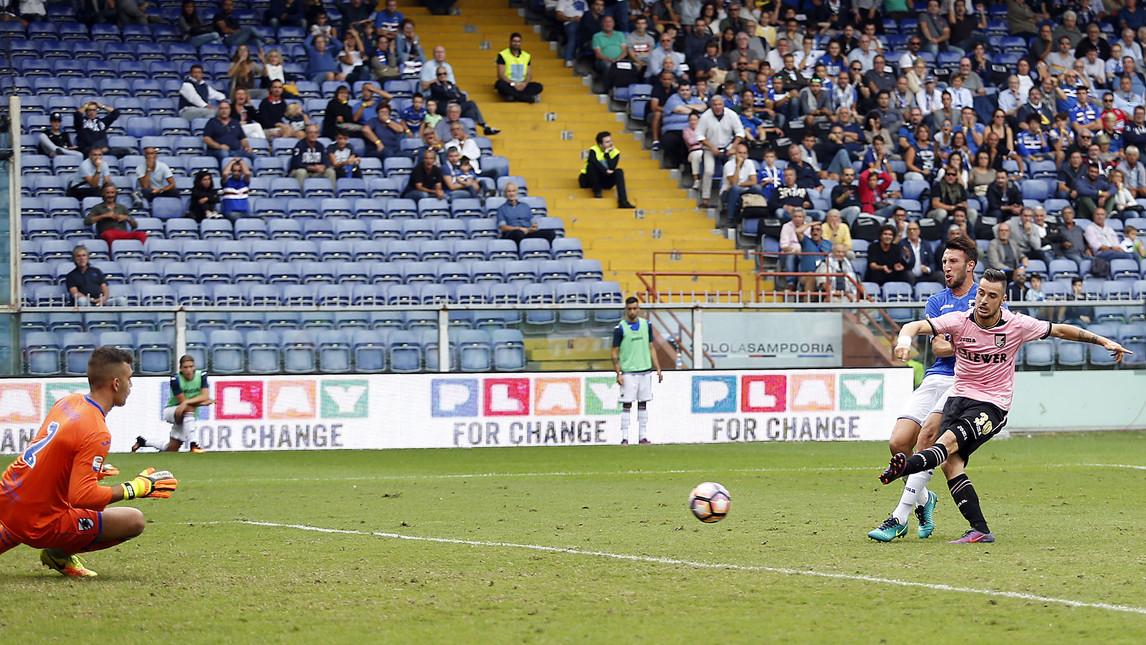 Il gol di Nestorovski