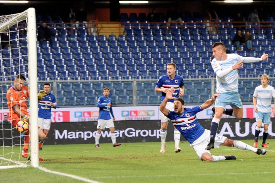 Il gol di Milinkovic