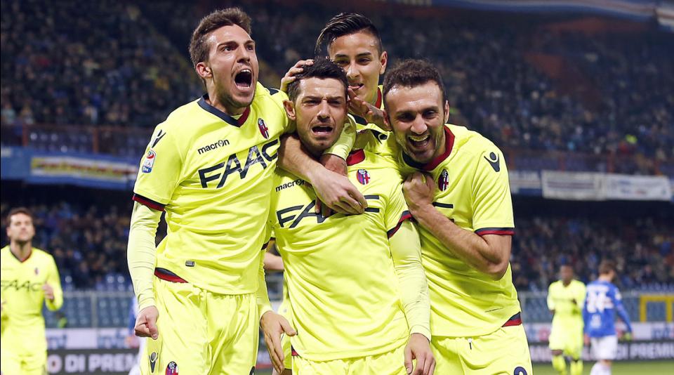Ancora la festa del Bologna