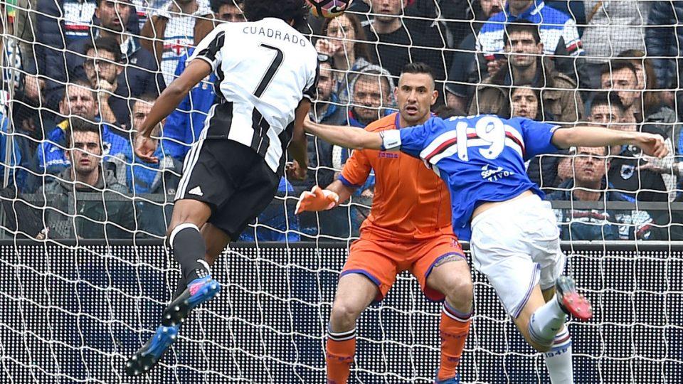 Il gol di Cuadrado che decide il match