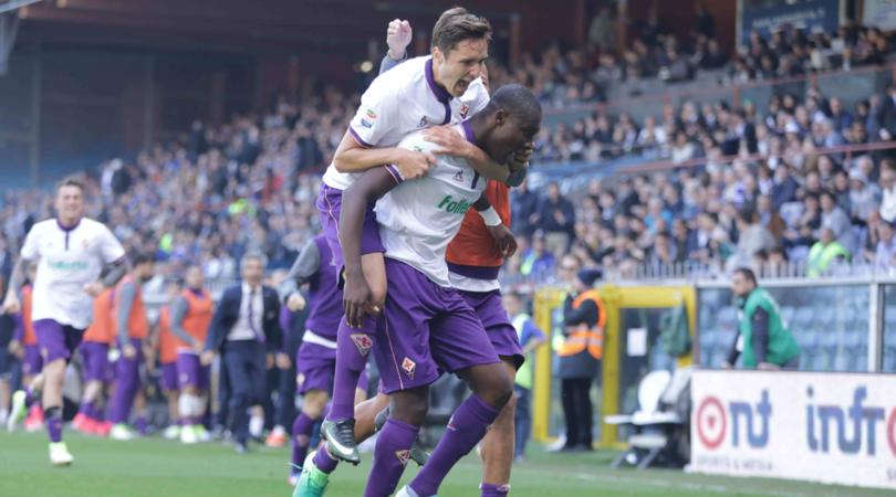Babacar in festa: la Fiorentina trova il pari a un minuto dalla fine
