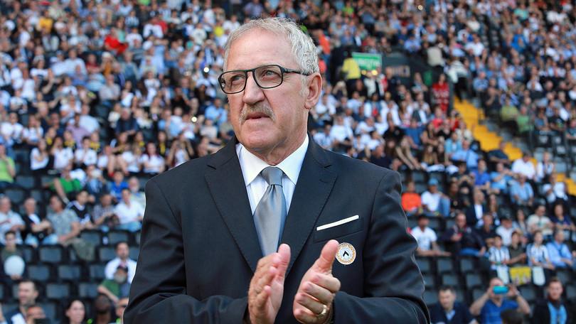 Il tecnico dell'Udinese Delneri