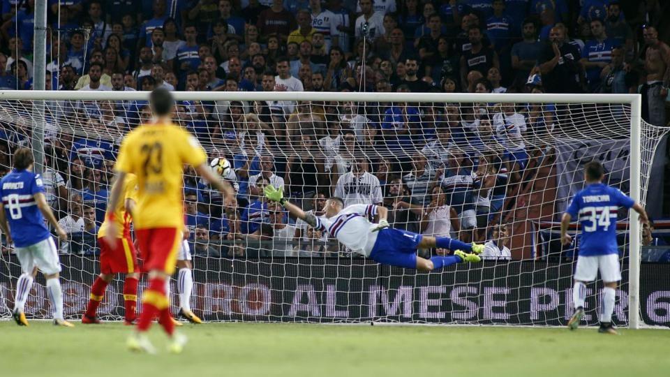 Ciciretti in gol: Benevento avanti