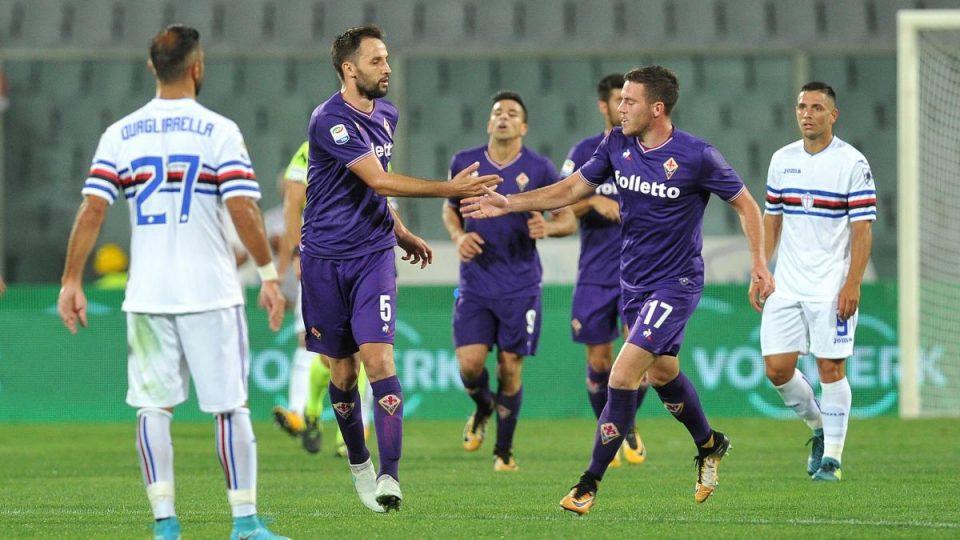 Badelj a segno: la Fiorentina accorcia le distanze