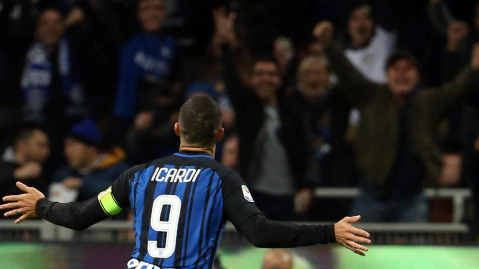 L'ex Icardi festeggia: per lui 11 gol in 10 partite
