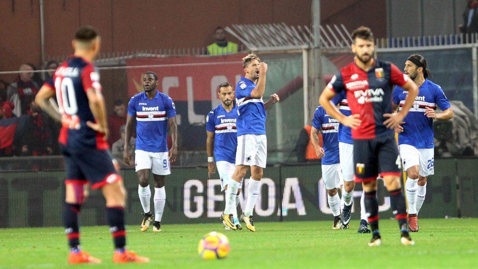 Ramirez festeggia alla grande il primo gol in blucerchiato