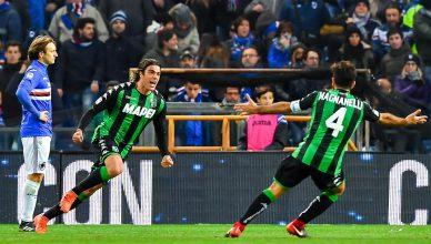 Matri esulta: con il suo gol al 90' è lui il match-winner