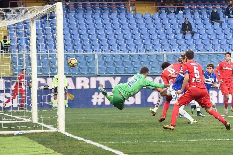 Sanchez accorcia per la Fiorentina: 3-1