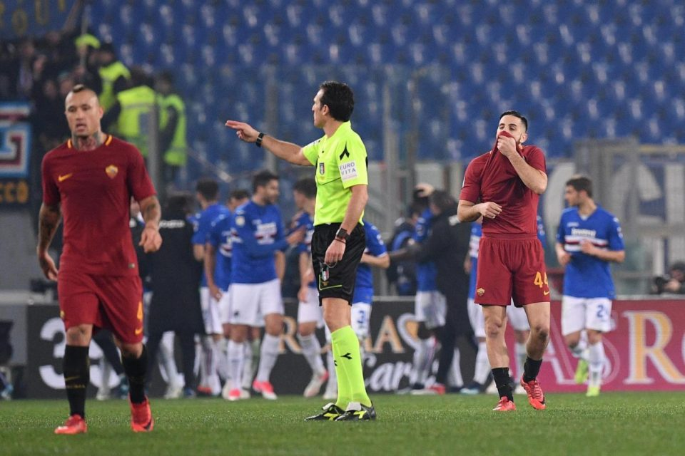 I romanisti delusi dopo il gol