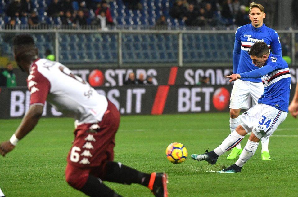 Torreira sblocca il match su punizione: 1-0
