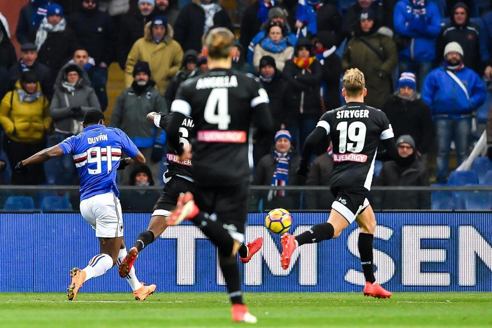 Zapata segna il 2-0 coronando una strepitosa azione solitaria