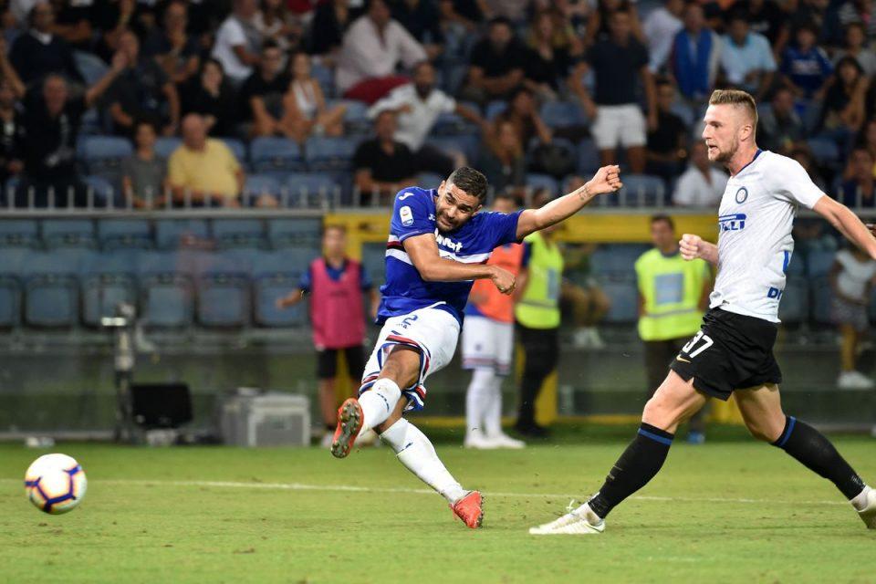 Defrel segna, ma è fuorigioco: gol annullato anche per la Samp