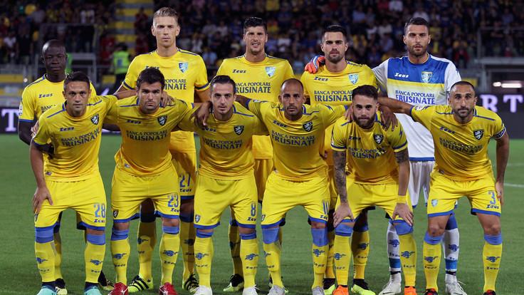 L'undici del Frosinone scelto da Longo per la prima dello Stirpe in Serie A