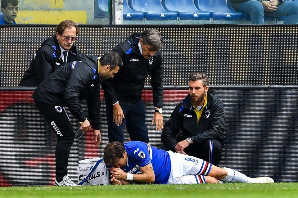 Barreto si fa male in avvio di match: dovrà uscire