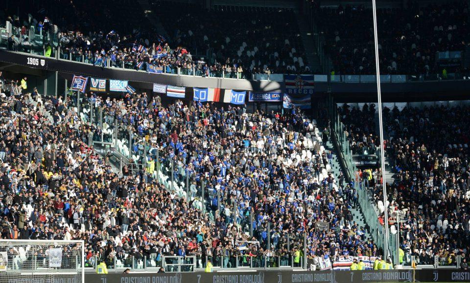 I tifosi doriani saliti a Torino