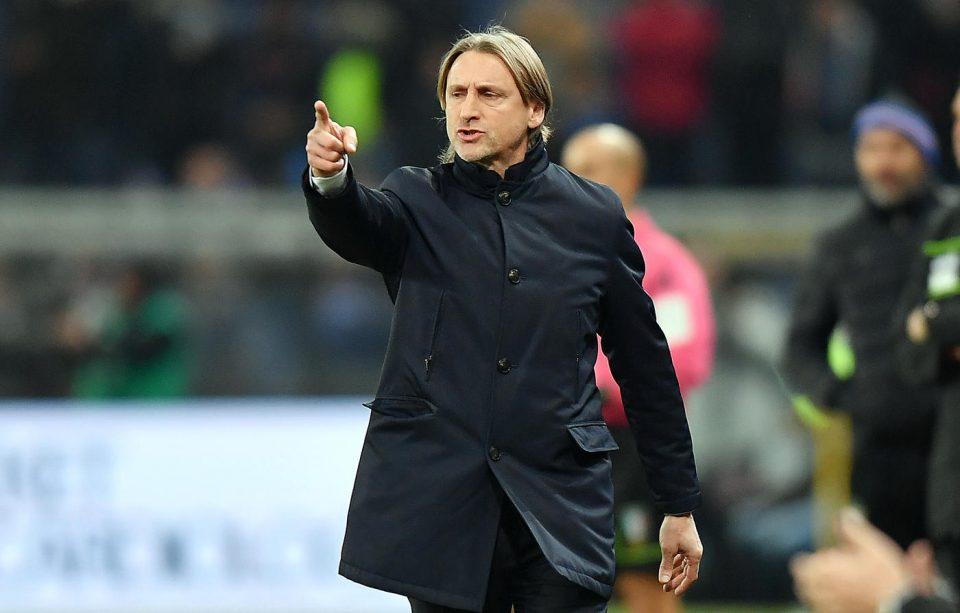 Il tecnico dell'Udinese Nicola catechizza i suoi