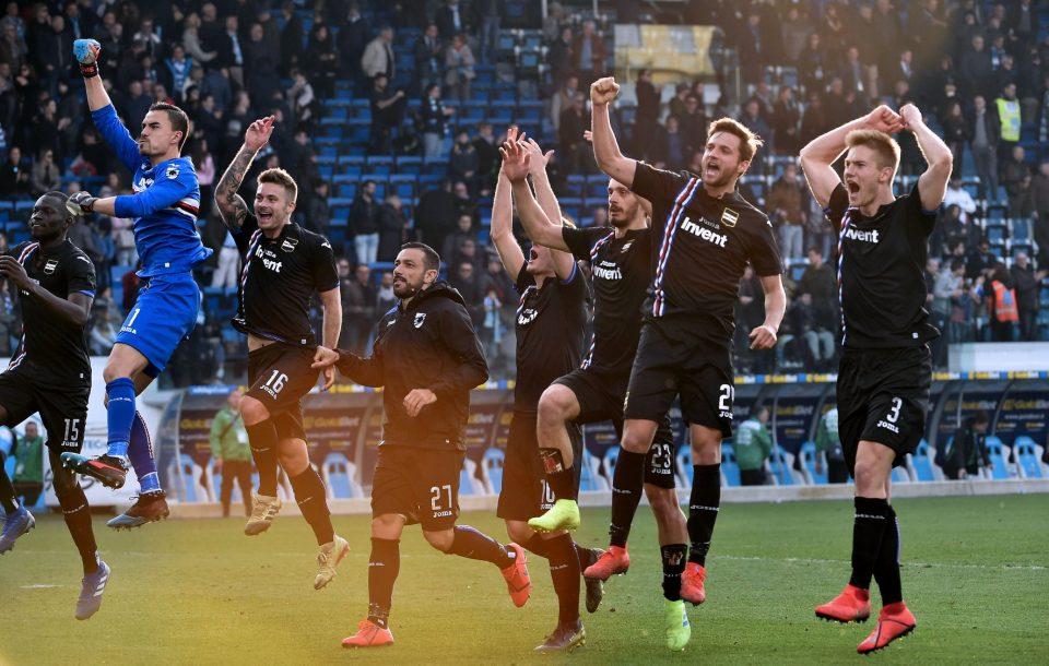Festa finale per la Sampdoria: seconda vittoria consecutiva