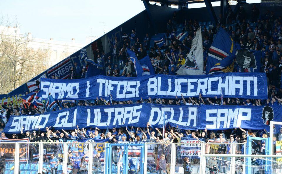 I tifosi del Doria giunti a Ferrara
