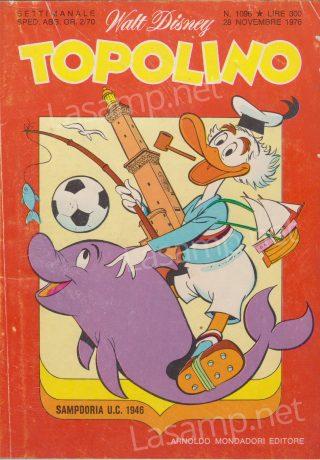 Topolino numero 1076, novembre 1976