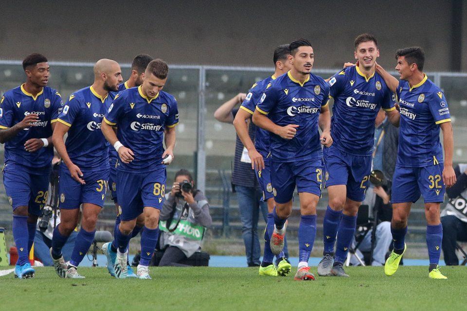 La festa del Verona