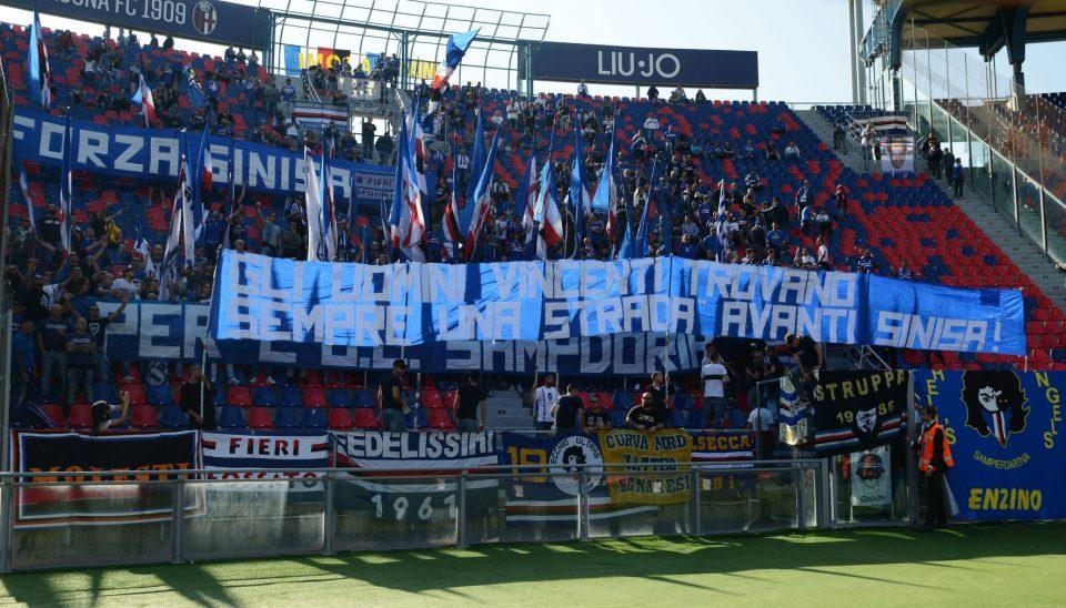I tifosi della Sampdoria hanno un pensiero per Mihajlović