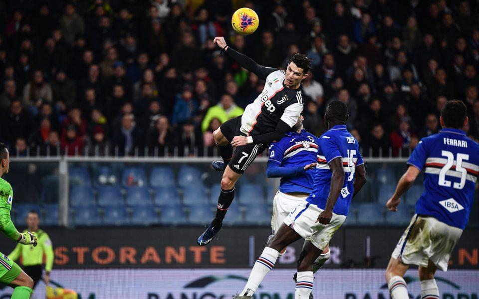 Ronaldo va in cielo e trova di testa la rete dell'1-2