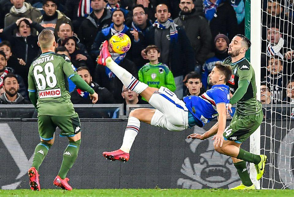 Ramírez segna in rovesciata, ma il Var annullerà il gol