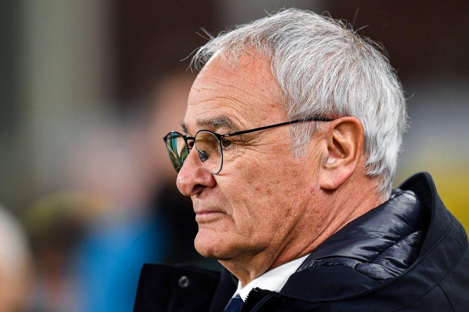 Un primo piano di Claudio Ranieri