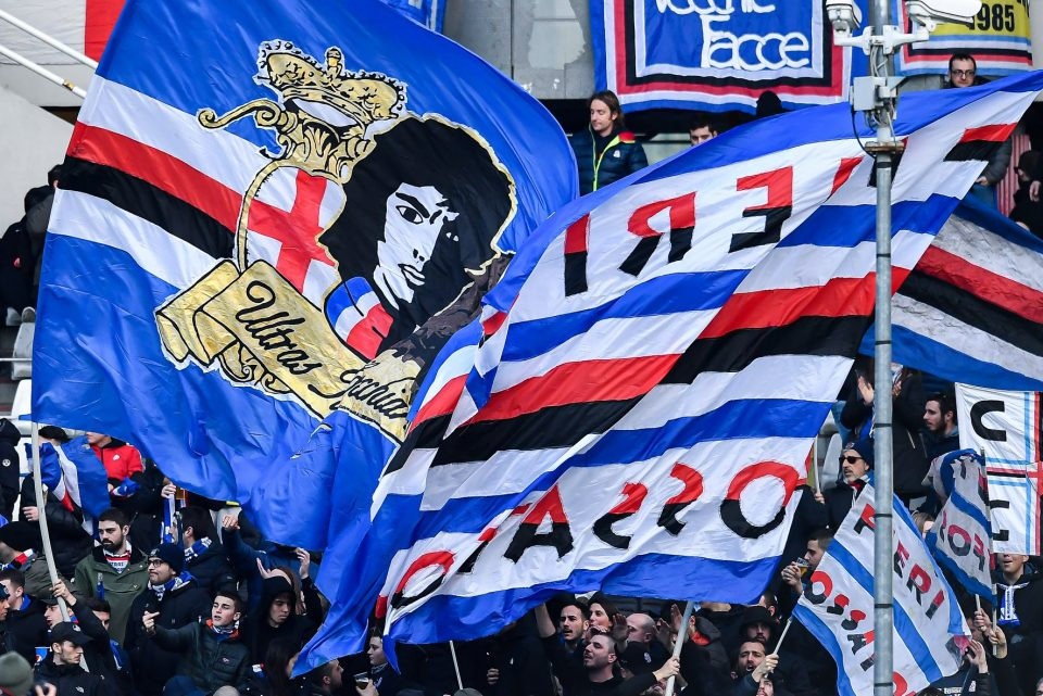I tifosi sampdoriani a Torino
