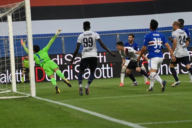 Orsolini in gol: Bologna avanti di due reti