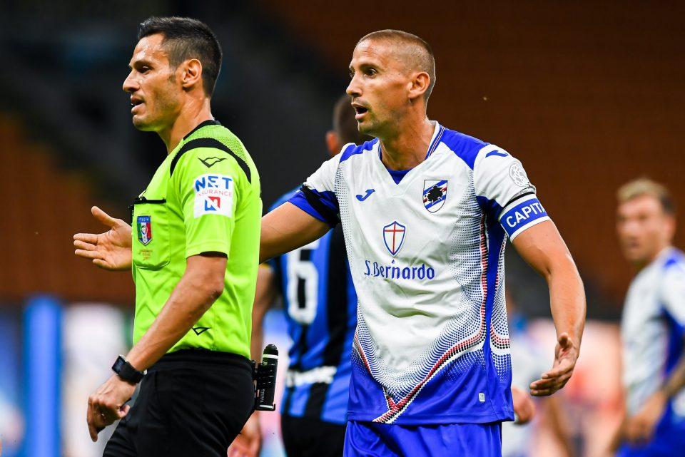 Ramírez con la fascia da capitano