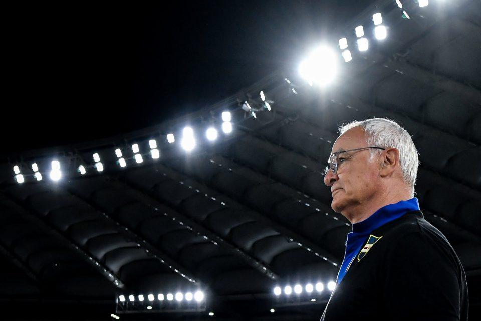 Lo sguardo concentrato dell'ex Ranieri