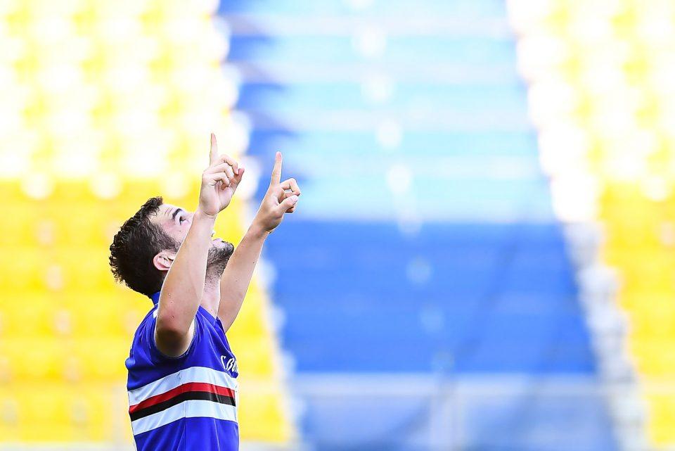 Come nelle precedenti occasioni, anche questa volta Bonazzoli dedica il gol al nonno recentemente scomparso