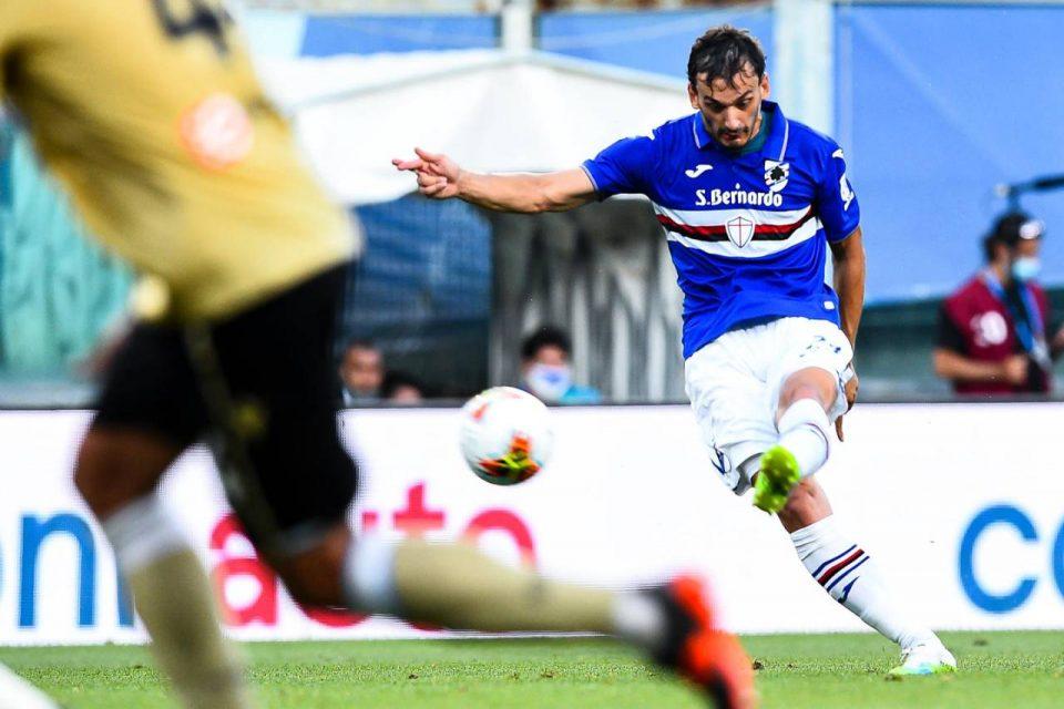 Gabbiadini segna su punizione il 2-0