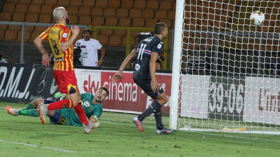 Gabriel respinge il tiro, ma la palla entra ugualmente