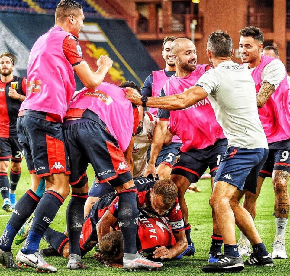Genoa in festa: salvezza più vicina per la squadra di Davide Nicola