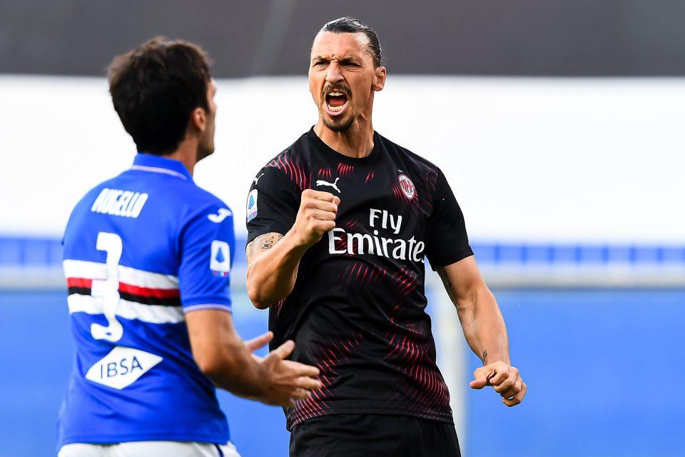 L'esultanza grintosa di Ibrahimović