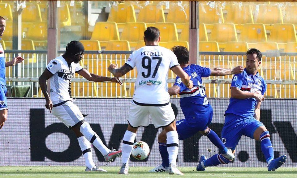 La rete di Gervinho: 1-0 per il Parma