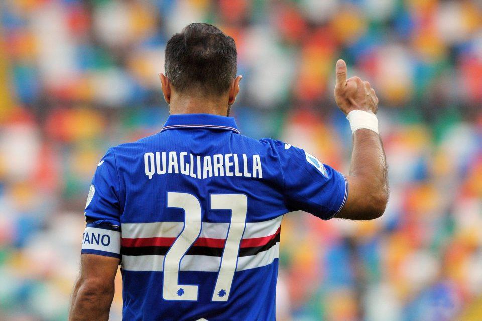 Ottimo ritorno per capitan Quagliarella, autore dell'1-1
