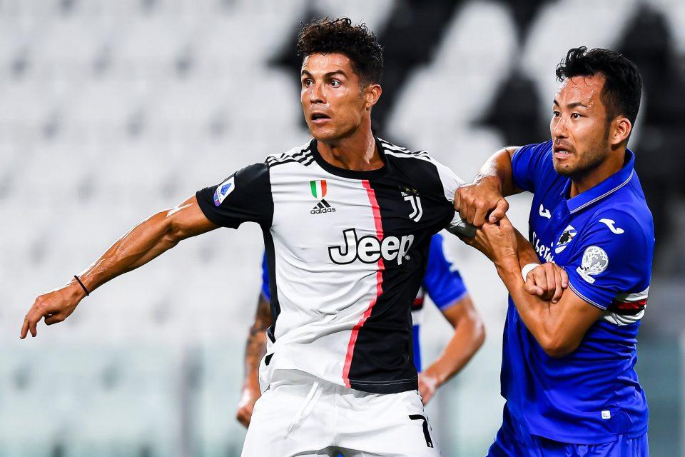 Yoshida controlla Ronaldo