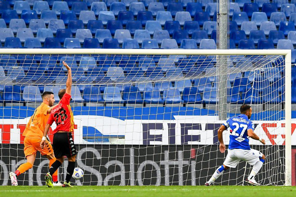 Quagliarella in gol dopo pochi minuti