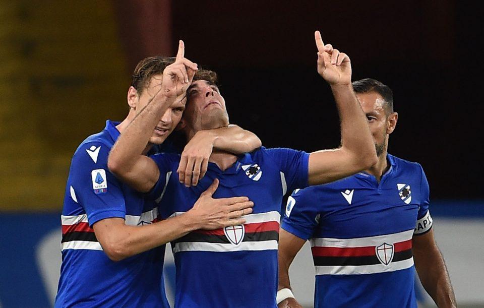 Augello dedica al padre il gol