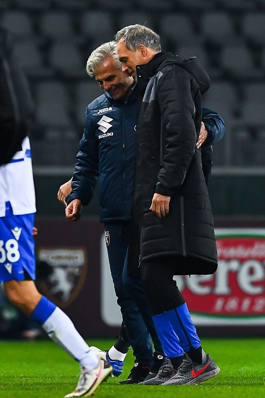 Benetti e Conti, vice di Ranieri e Giampaolo, si salutano a fine match