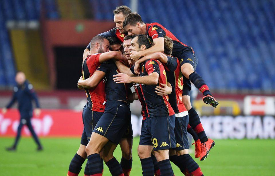 Festa per il Genoa