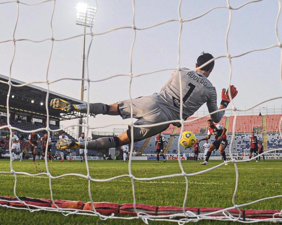 João Pedro segna il rigore dell'1-0