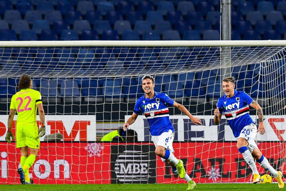 Verre esulta dopo il bellissimo gol dell'1-0