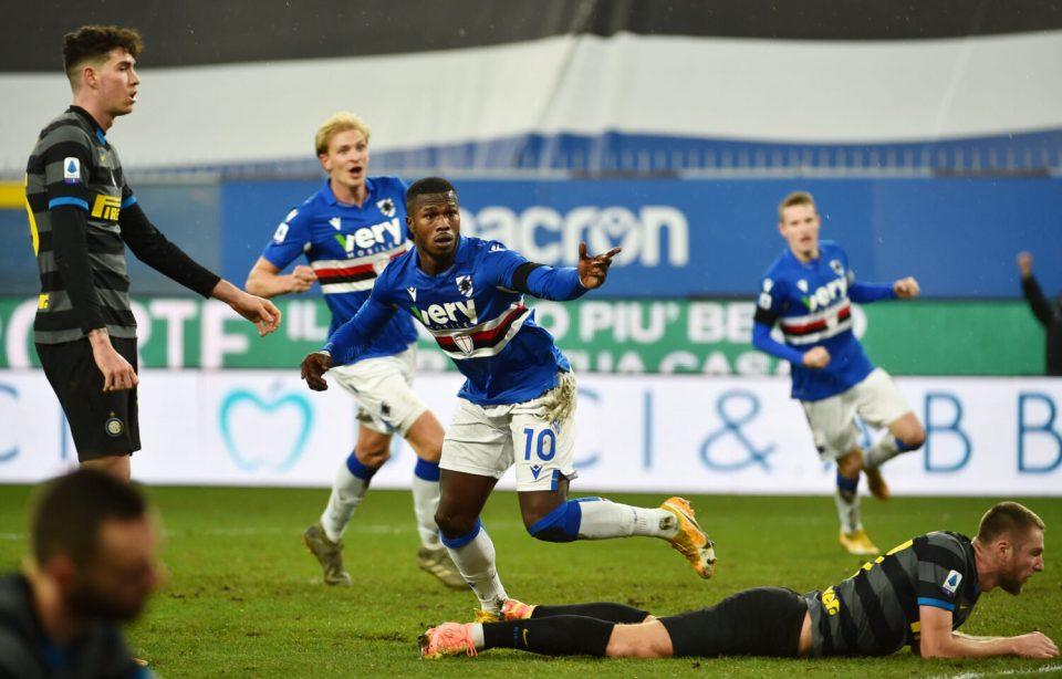 La rete del 2-0 firmata da Keita Baldé