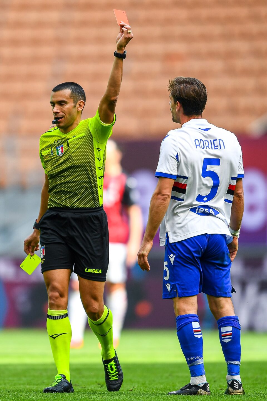 Il cartellino rosso per Adrien Silva