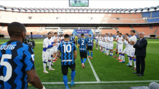 L'omaggio della Sampdoria agli interisti