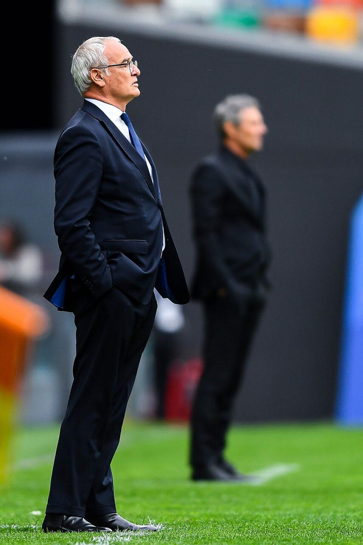 Ranieri a bordo campo